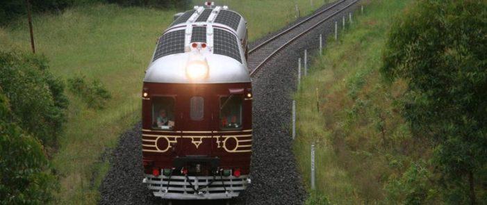 Ya funciona el primer tren solar del mundo