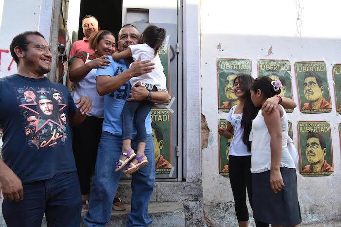 Liberan al líder indígena después de 4 años preso injustamente en Guerrero