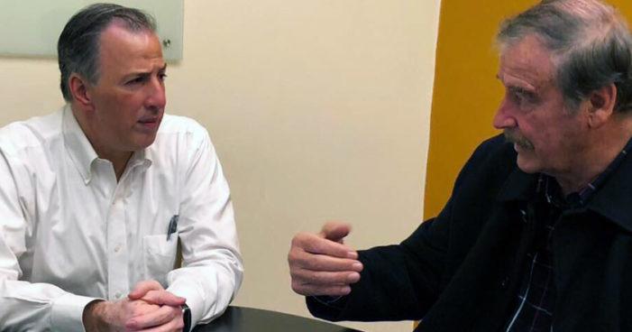 Meade contará con apoyo de Vicente Fox para 2018