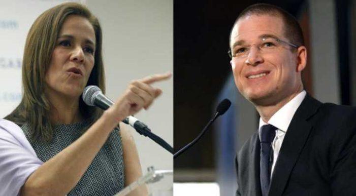 Margarita Zavala acusa a Anaya de convertir al PAN 'en una copia barata del PRI'