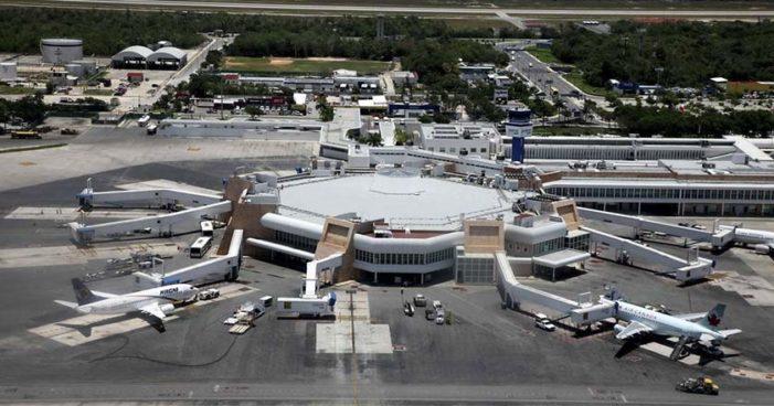 Detienen con 700 mil pesos en efectivo a extranjero en aeropuerto de Cancún