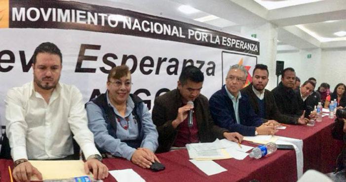 Anuncian perredistas de Pachuca, Hidalgo, su salida a Morena