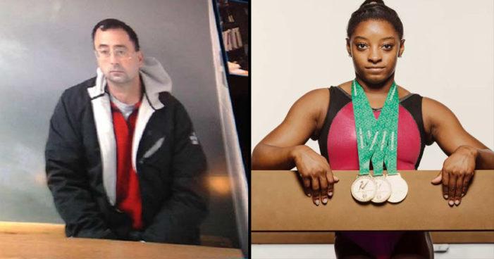 Campeona gimnasta Simone Biles denuncia por abuso a médico Larry Nassar