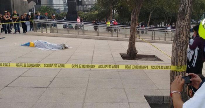 Cd de México: Cae un hombre del Monumento a la Revolución y muere