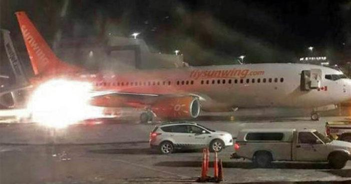 Choca en Toronto, Canadá, avión proveniente de Cancún