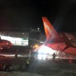 Chocan dos aviones de pasajeros en la pista del aeropuerto de Toronto