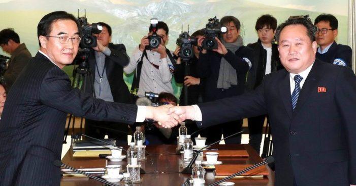 Corea del Norte y del Sur inician conversaciones por primera vez en dos años