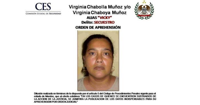 Detienen a 'La Vicky', está entre los 15 secuestradores más buscados en Morelos