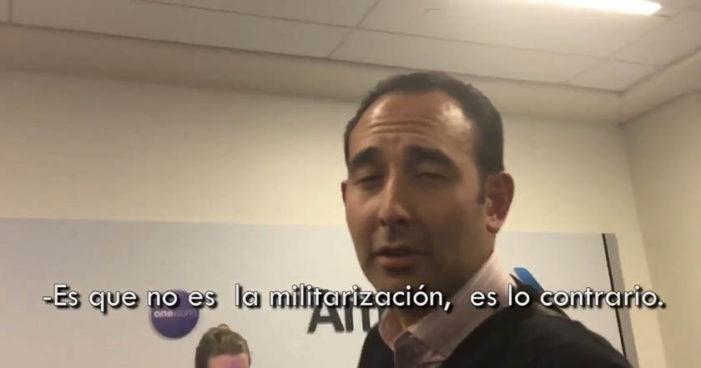 Encaran a Gil Zuarth por Ley de Seguridad, 'no es militarización' responde