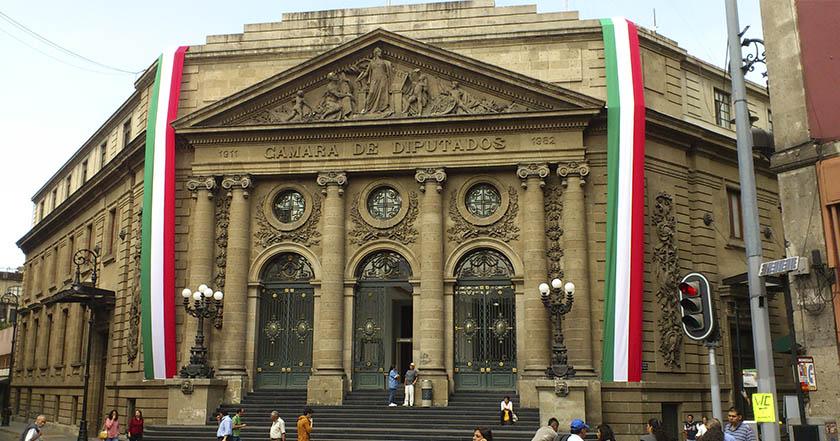 cámara de diputados federales ciudad de méxico morena partidos