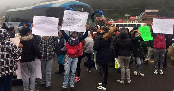 Exigen a Del Mazo que se involucre en caso de 8 detenidos por oponerse al despojo de sus tierras