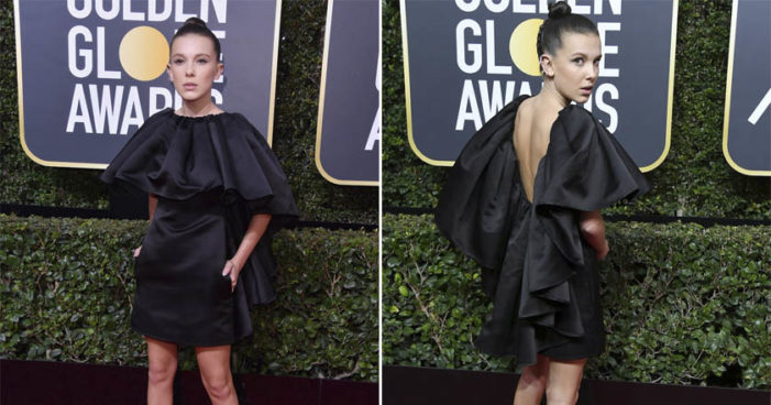 #GoldenGlobes: Homenajean a víctimas de abuso sexual de Hollywood