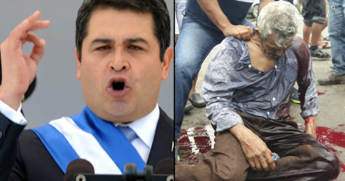 En medio de crisis política en Honduras toma posesión Juan Orlando Hernández como presidente