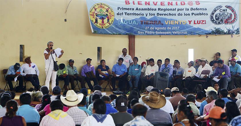 Movimiento Regional Indígena en Defensa y Respeto por la Vida, fracking, Veracruz
