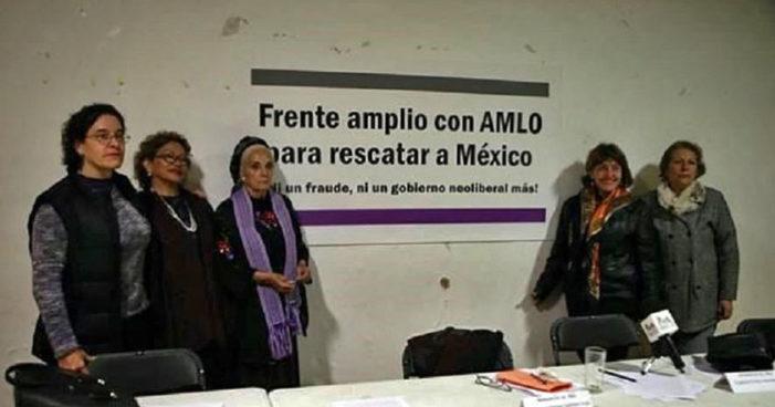 Lideresas del PRD dejan su partido para sumarse a AMLO y Sheinbaum