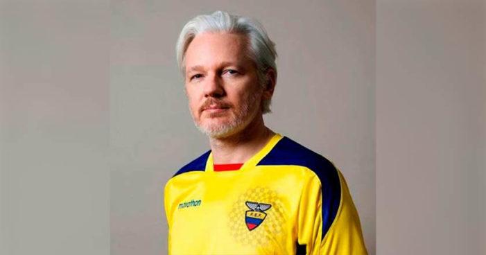 Recibe Julian Assange la nacionalidad ecuatoriana