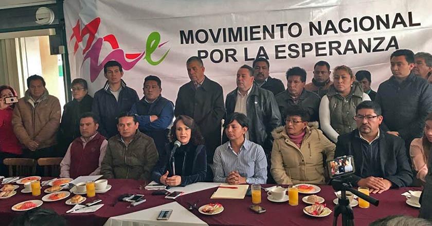 Se van a Morena 50 mil militantes del PRD Edomex