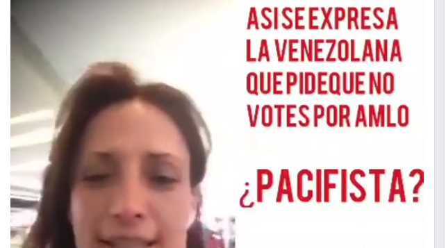 Actriz venezolana que llamó a no votar por AMLO pidió exterminar a vendedores de cupcakes