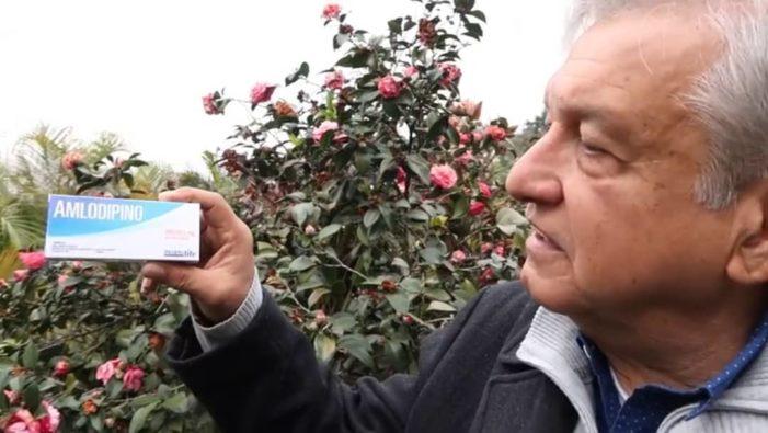 AMLO recomienda a Peña Nieto tomar 'Amlodipino' para que se serene (video)