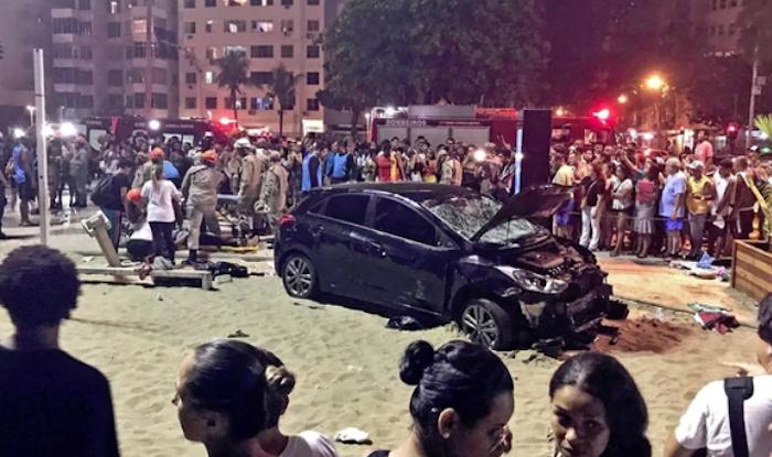 Un bebé murió y 15 más resultaron heridos por atropellamiento masivo en Brasil