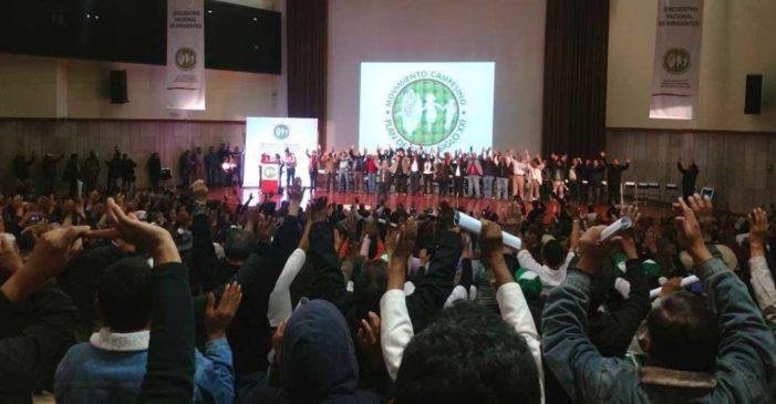 Cien organizaciones campesinas cierran filas con AMLO; buscarán 5 millones de votos