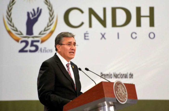 CNDH también impugna Ley de Seguridad Interior