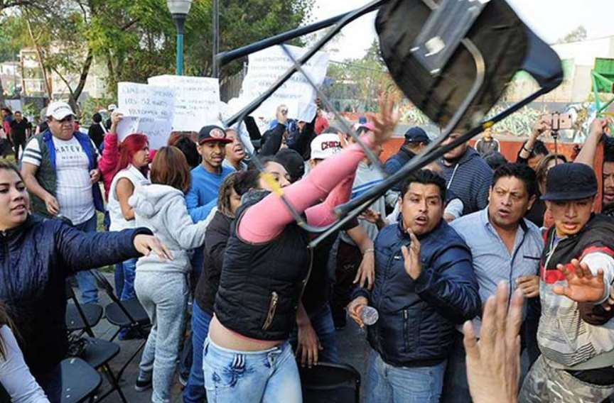 Reportan con muerte cerebral a simpatizante de Morena por agresión en Coyoacán