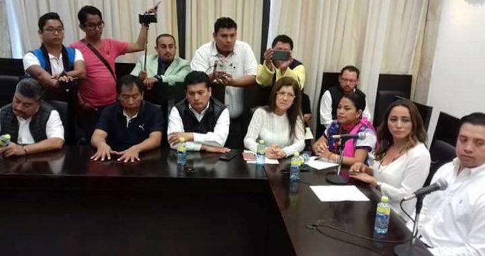 14 diputados abandonan al PVEM por alianza con el PRI en Chiapas