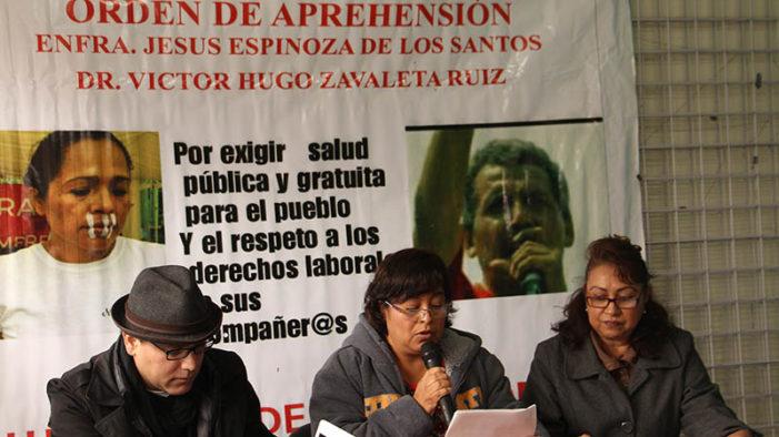 Acusan de motín a trabajadores de salud que piden mejores servicios en Chiapas