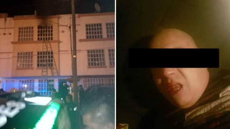 Ex policía asesina y quema a su esposa e hijas en Tecámac