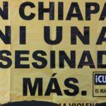 Suman 4 feminicidios en Chiapas en primera quincena del año