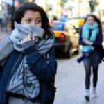 Nuevo frente frío ocasionará vientos fuertes y refrescamiento de la temperatura
