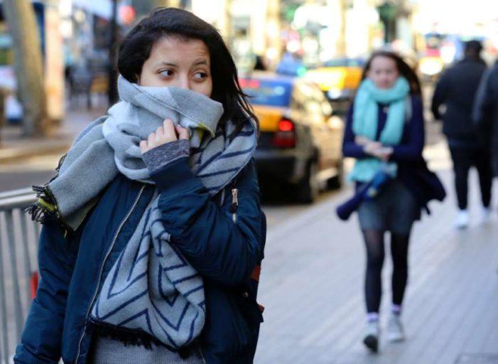 Aún se esperan 25 frentes fríos más en esta temporada invernal