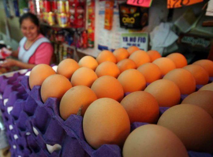 Precio del huevo subió hasta 33% en la CDMX
