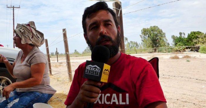 Persecución judicial contra activista defensor del agua en Mexicali