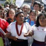 Levantar firmas con un celular en regiones indígenas, muy lejos de nuestra realidad: Marichuy