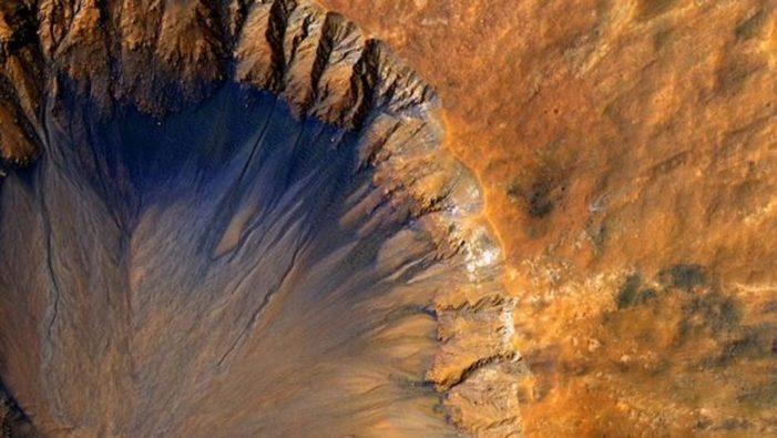 Científicos descubren que Marte esconde grandes reservas de agua bajo la superficie