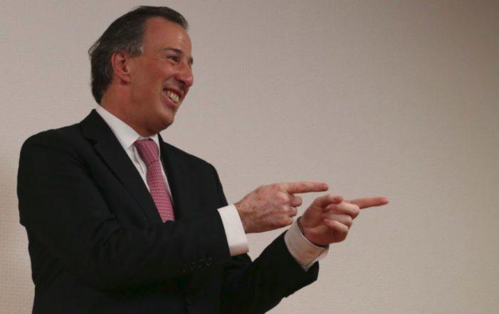 """Del 'volvido' a """"hemos 'resolvido' de manera adecuada"""", dice Meade en Hidalgo"""