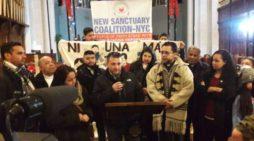 Migra acecha a movimiento defensor de migrantes en Nueva York