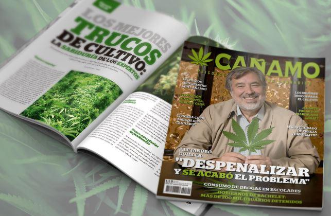 Segob censura a la revista Cáñamo por atentar con 'buenas costumbres', buscan amparo