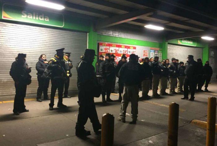 Detienen a 11 por intentar saquear tiendas departamentales en Ecatepec