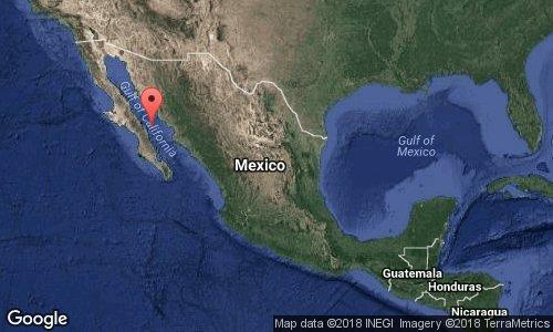 Sismo de 6.3 sacude Baja California Sur, exactamente 4 meses después del 19S