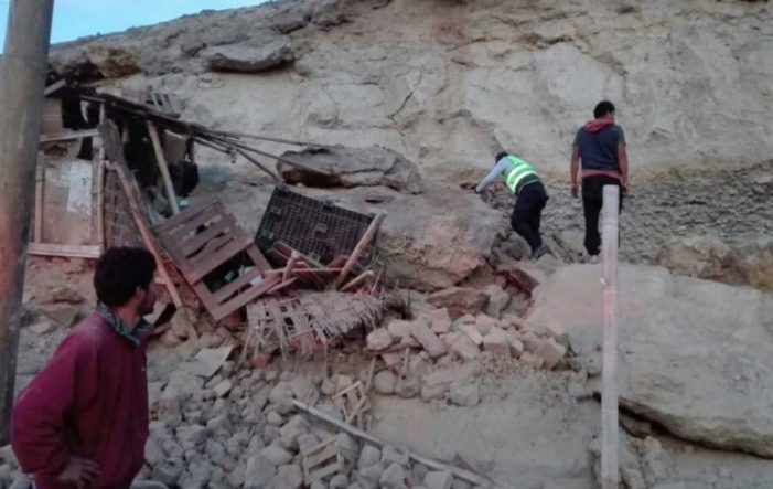 Sismo en Perú deja un muerto y más de 60 heridos