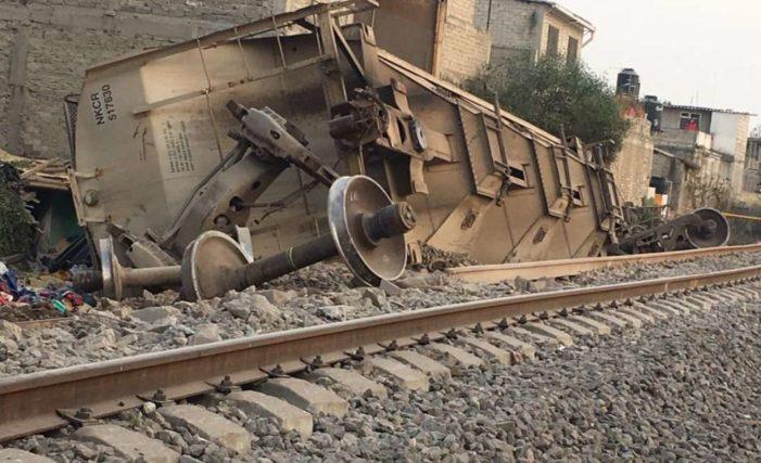 Los Valencia dormían cuando el tren les cayó encima