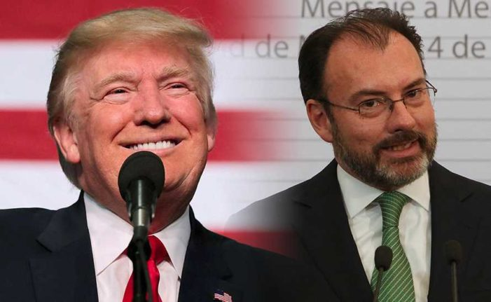 Derrocaron a Peña, Trump manda en México a través de Videgaray: Muñoz Ledo