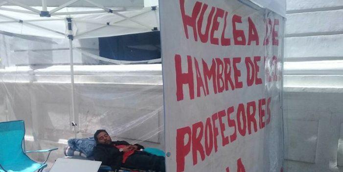 Chiapas, huelga de hambre en Facultad de Derecho de la UNACH