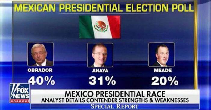 Meade un desastre, AMLO primer lugar en encuestas: Fox News (Video)
