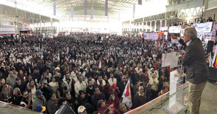 AMLO convoca a la reconciliación del gremio magisterial, habrá firma de Acuerdo en Guelatao