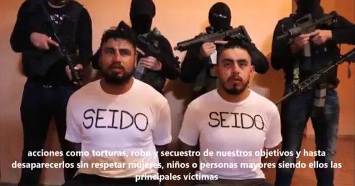 Aparecen agentes de la SEIDO en video del CJNG tras una semana de desaparecidos en Nayarit