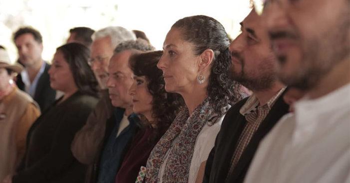 Claudia Sheinbaum reúne a las distintas corrientes de la capital en firma de Acuerdo de Unidad